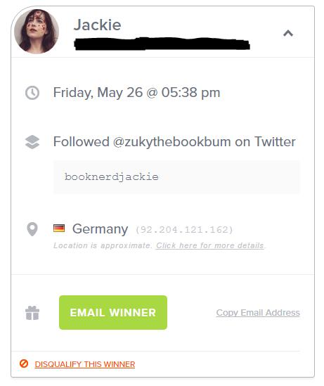giveaway winner 500