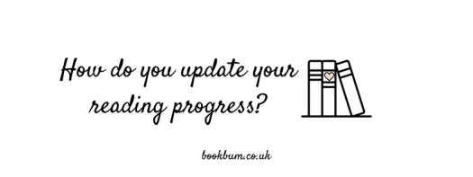BOOKISH BIT BANNER - How do you update your reading progress-
