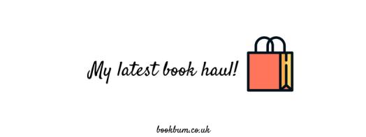 My latest book haul!