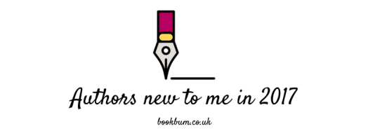 BOOK REVIEW BANNER -Authors new to me in 2017