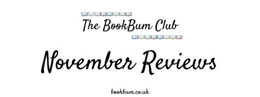 The BookBum Club Banner - November Reviews