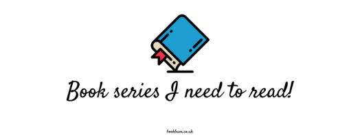 BOOK REVIEW BANNER - Book series I need to read!