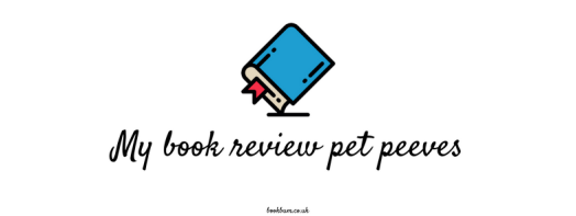 BOOK REVIEW BANNER - My book review pet peeves