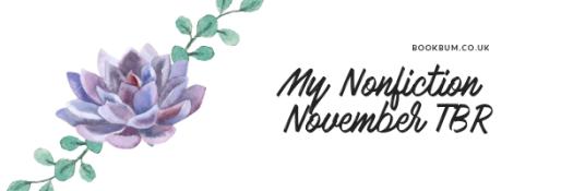 My Nonfiction November TBR