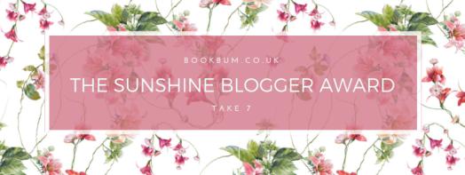 The Sunshine Blogger Award 7